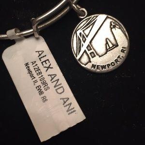 Newport, Rhode Island silver bracelet